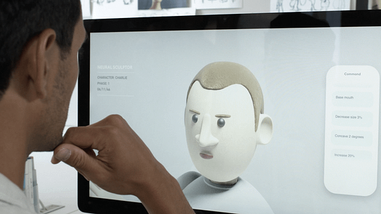 """The """"Neural Sculptor"""" App shows how a BCI could enable people to work faster than they could with their hands."""